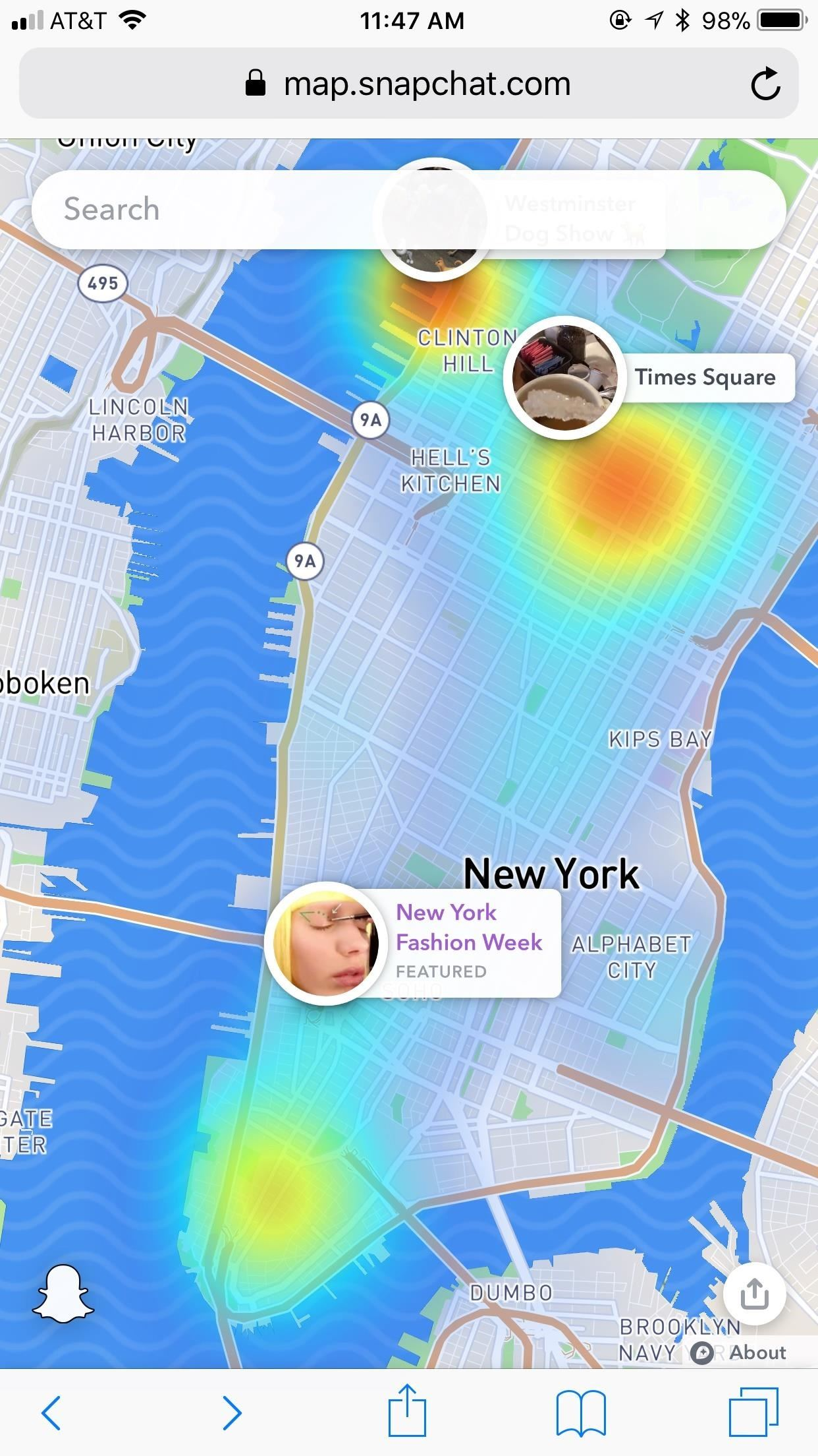 The New Web-Based Snap Map Lets Anyone Watch Public Snaps, No Account Needed