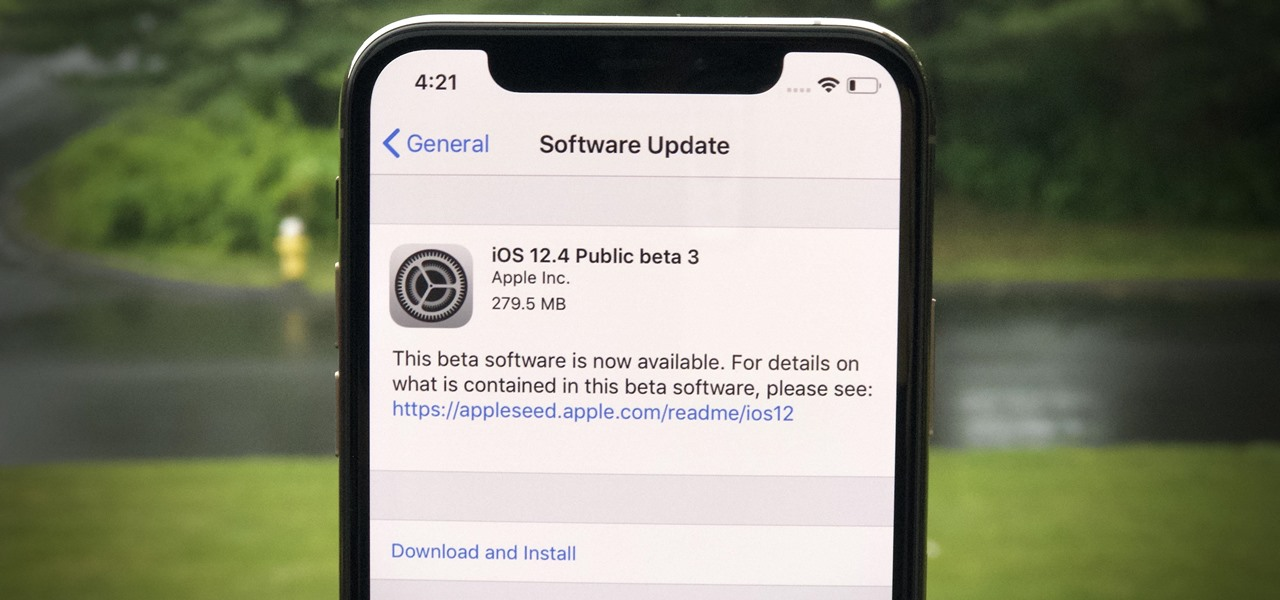 Apple Releases iOS 12.4 Public Beta 3 Today for Software Testers