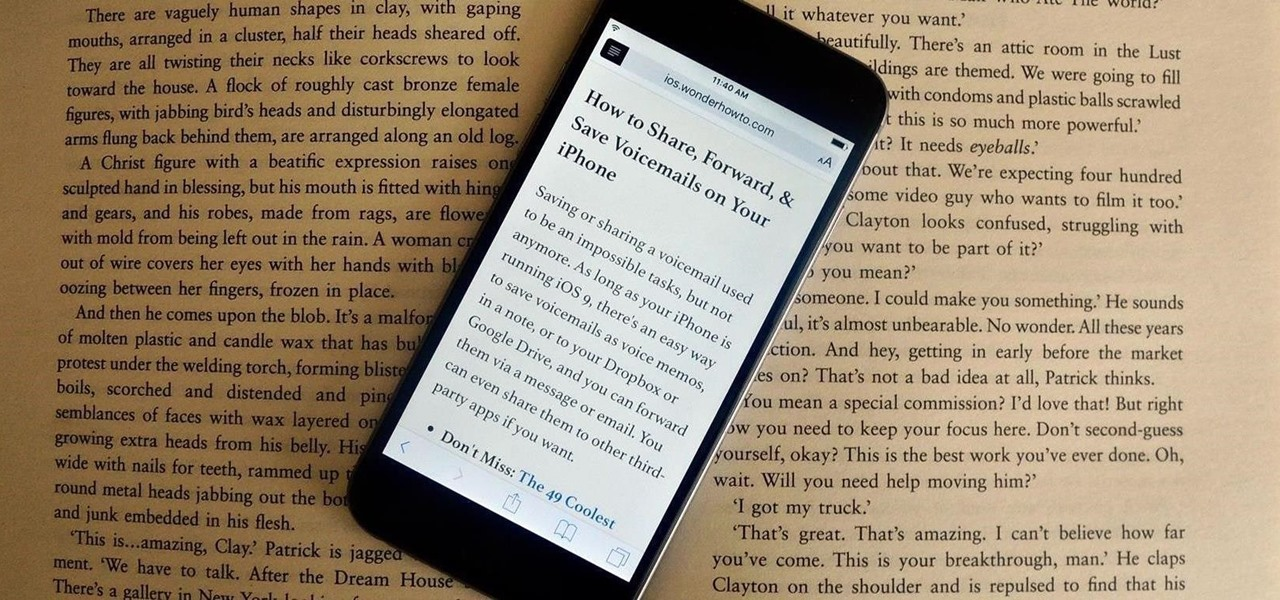 Clean Up Web Articles on Your iPhone with Safari's Reader Mode