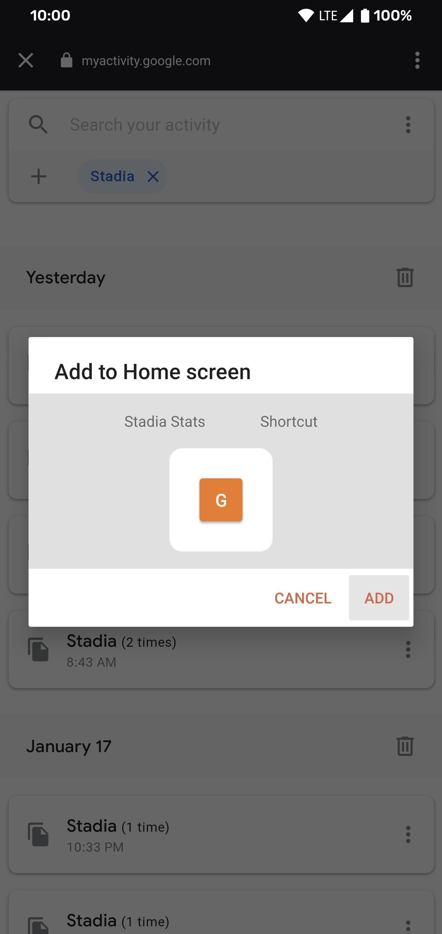 How to View Your Stadia Gaming Sessions from Your Google Account History