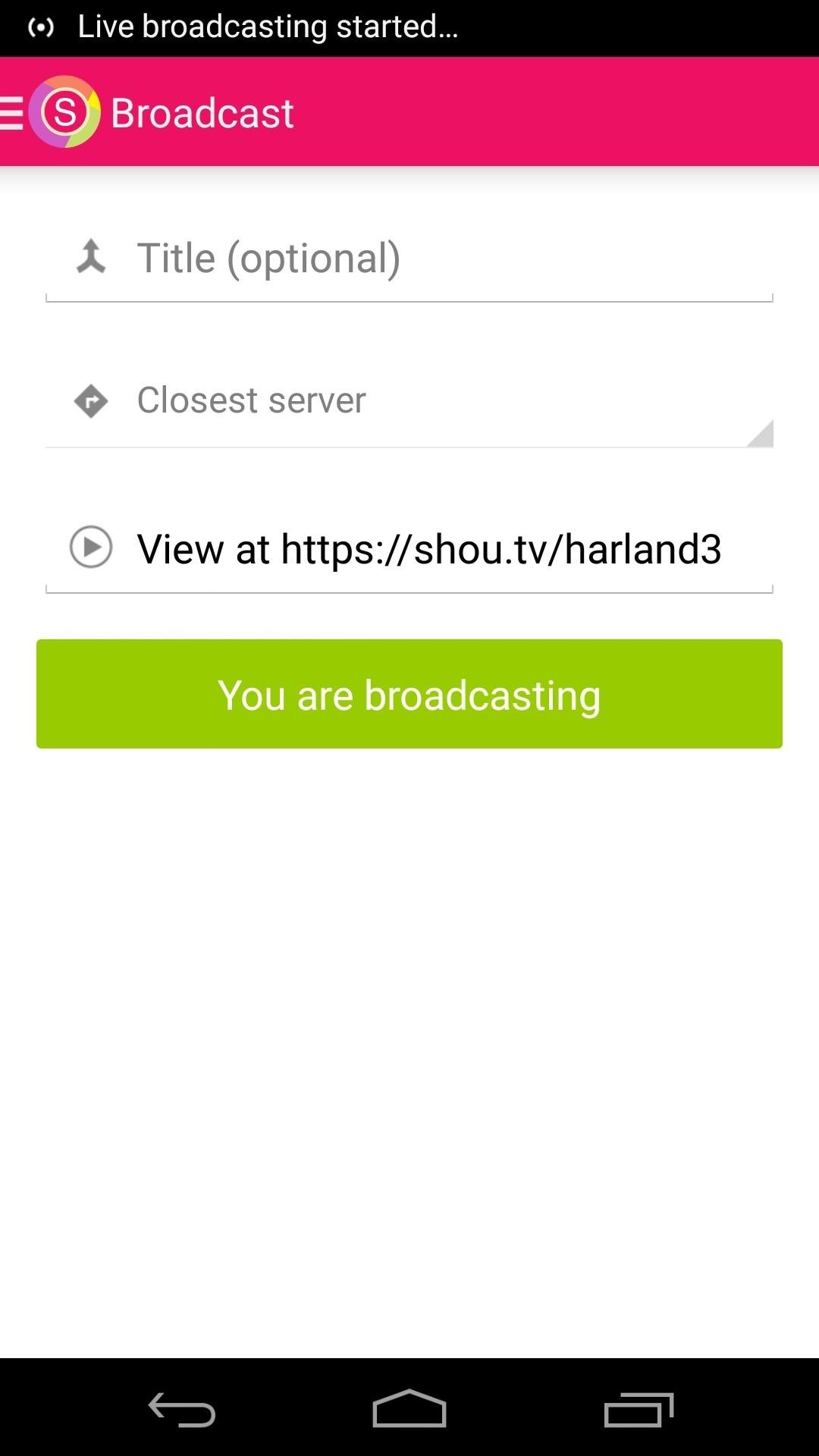 Live Stream Your Gameplay on Android Directly to the Web