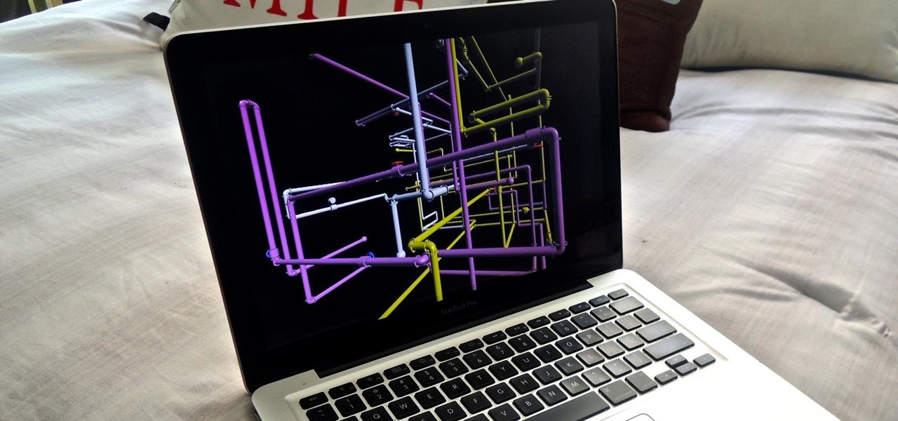 Install the Classic Windows 3D Pipes Screensaver on Your Mac