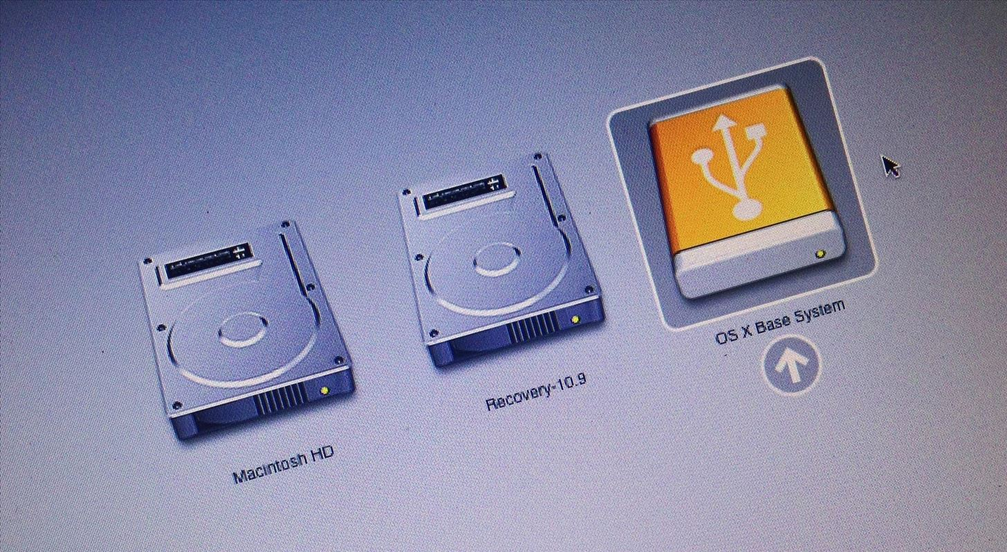 How to install Mac OS from a USB flash drive