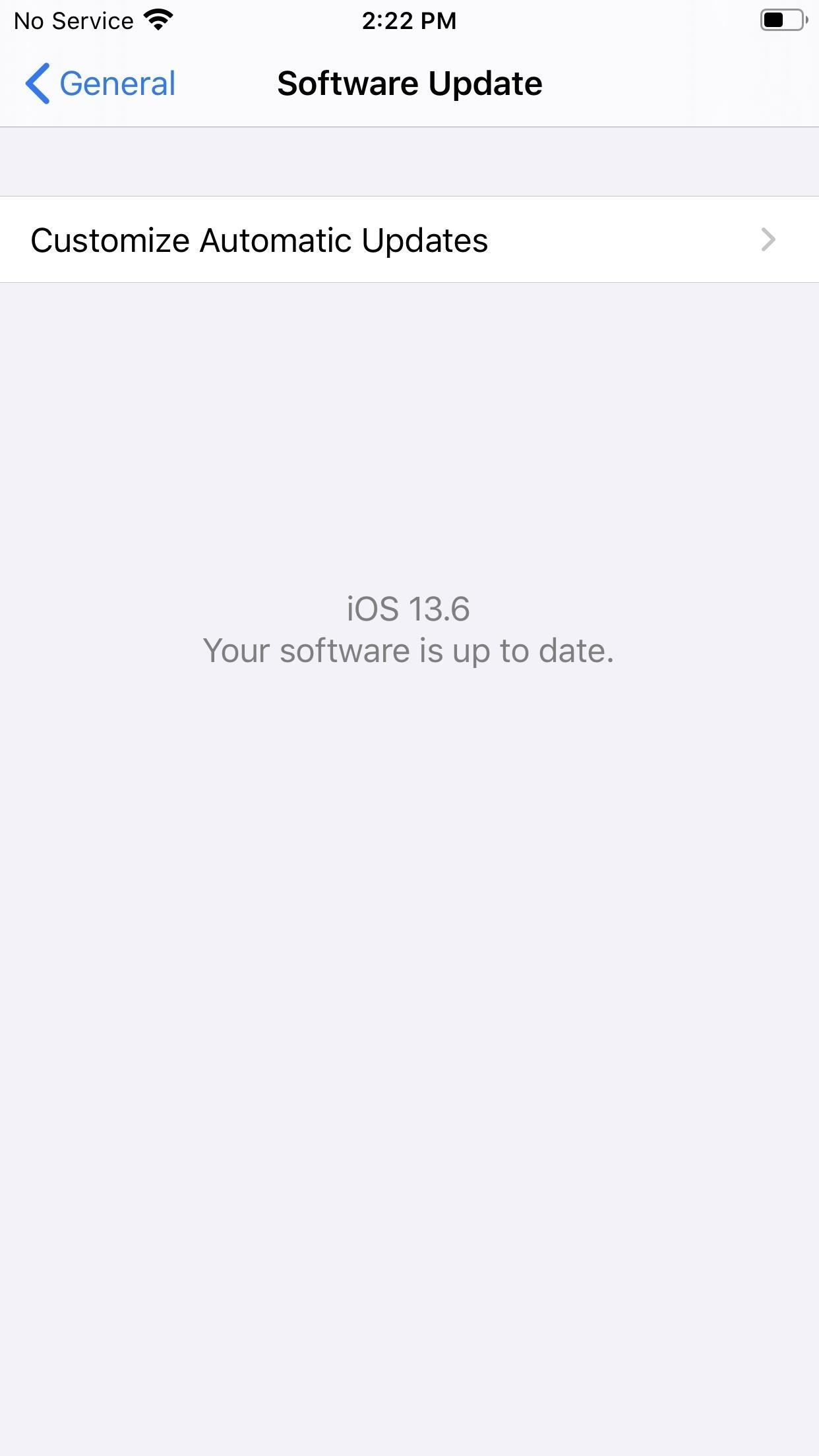 Apple Releases iOS 13.6 Public Beta 2 for iPhone, Includes Option to Automatically Download New Updates