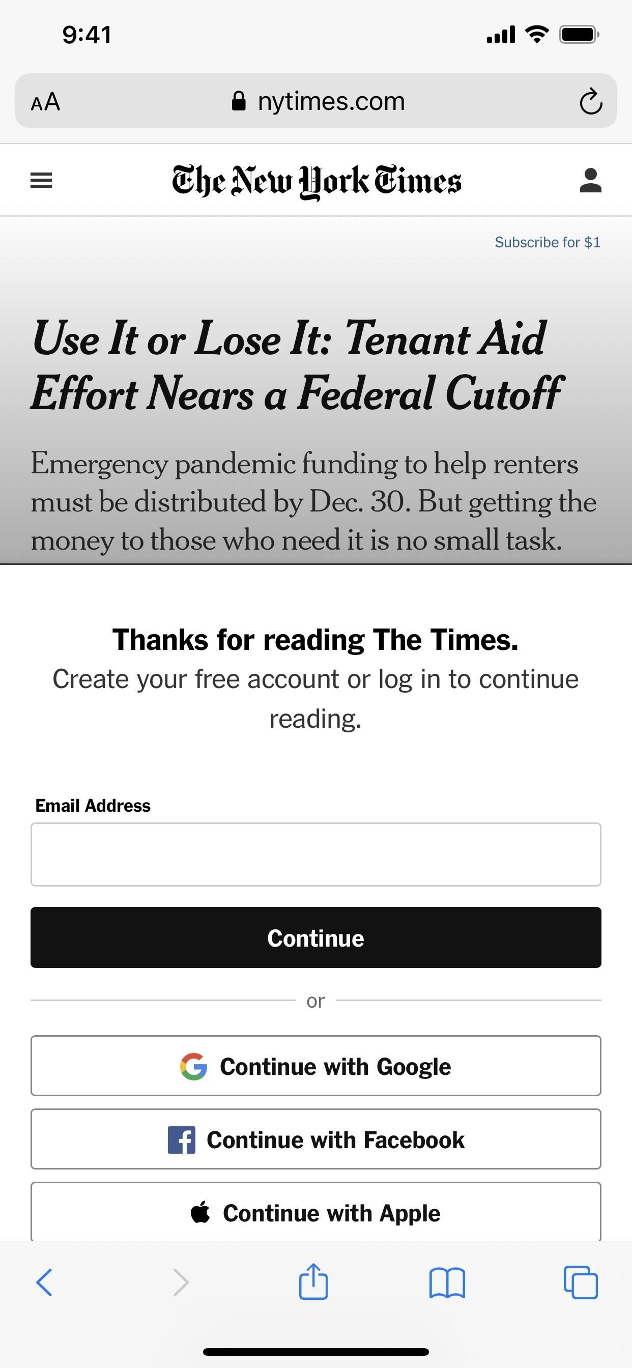 The Best Way to Bypass Website Paywalls & Unlock Full Articles on Your iPhone
