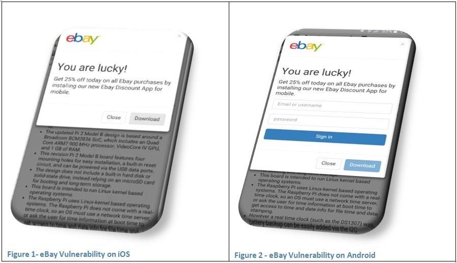 eBay Vulnerability Allows Scammers to Attack Android & iOS with Malicious Programs