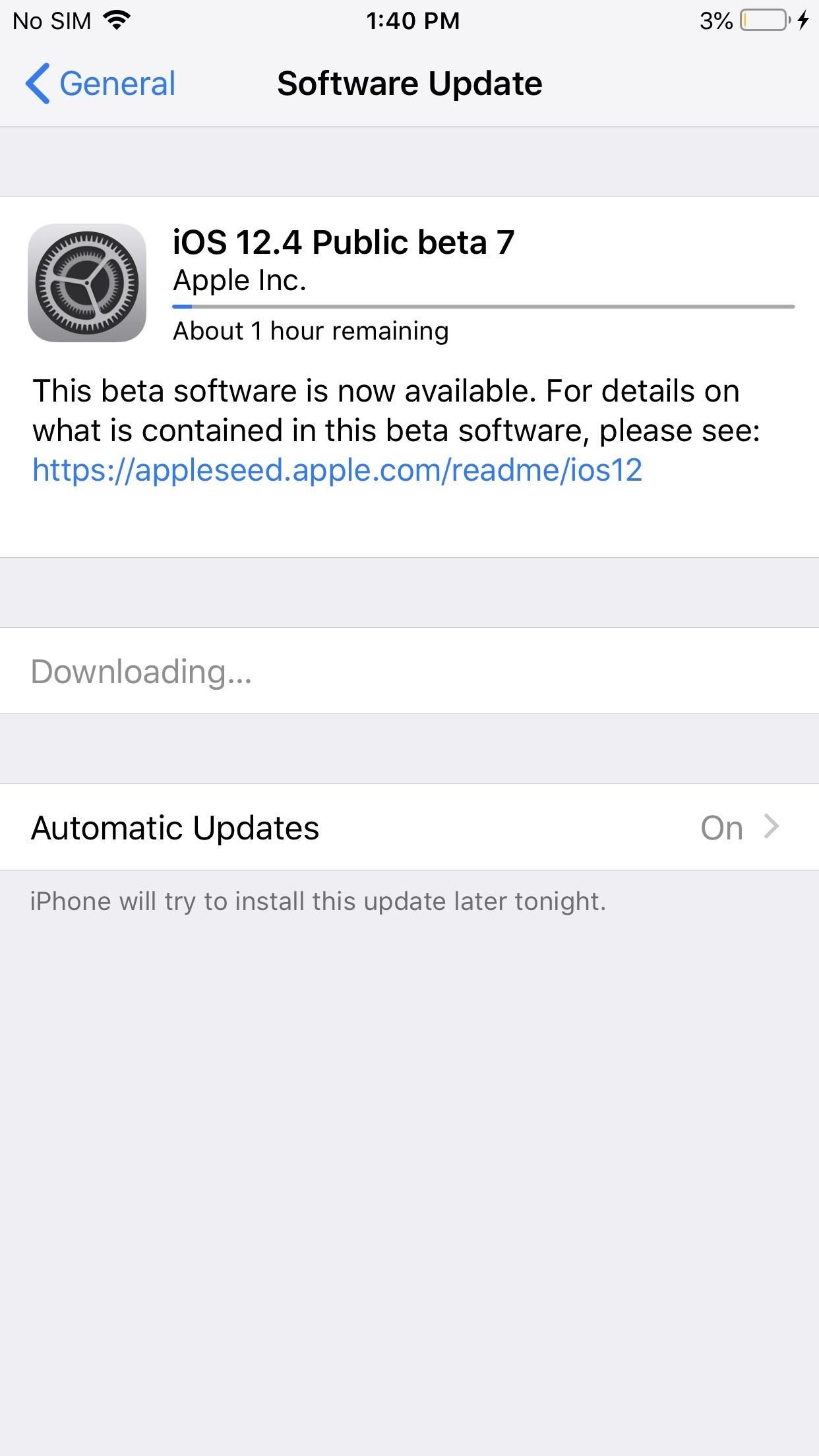Apple Just Released iOS 12.4 Beta 7 for iPhone, Indicating Apple Card Is Near