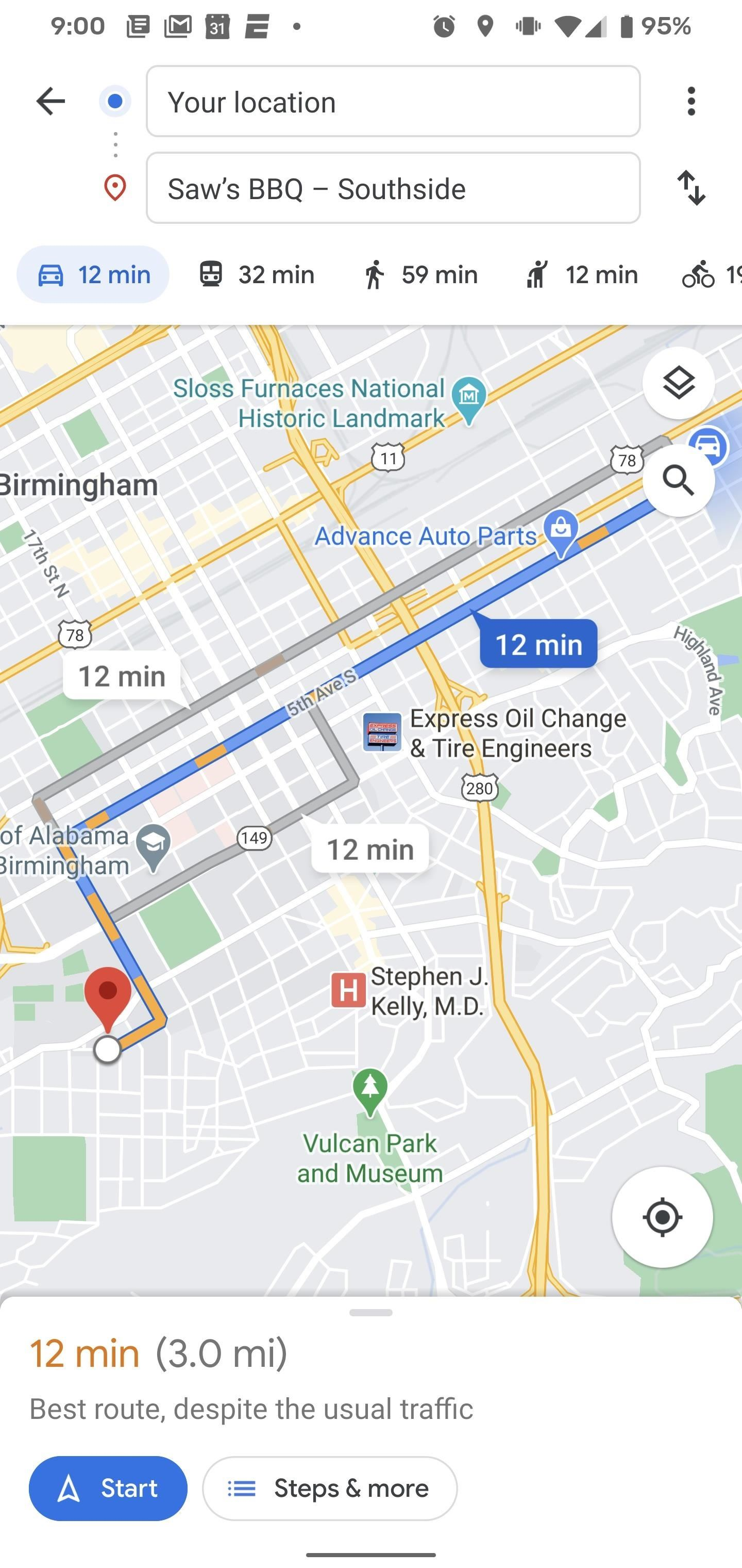 How to Change Your Navigation Icon in Google Maps