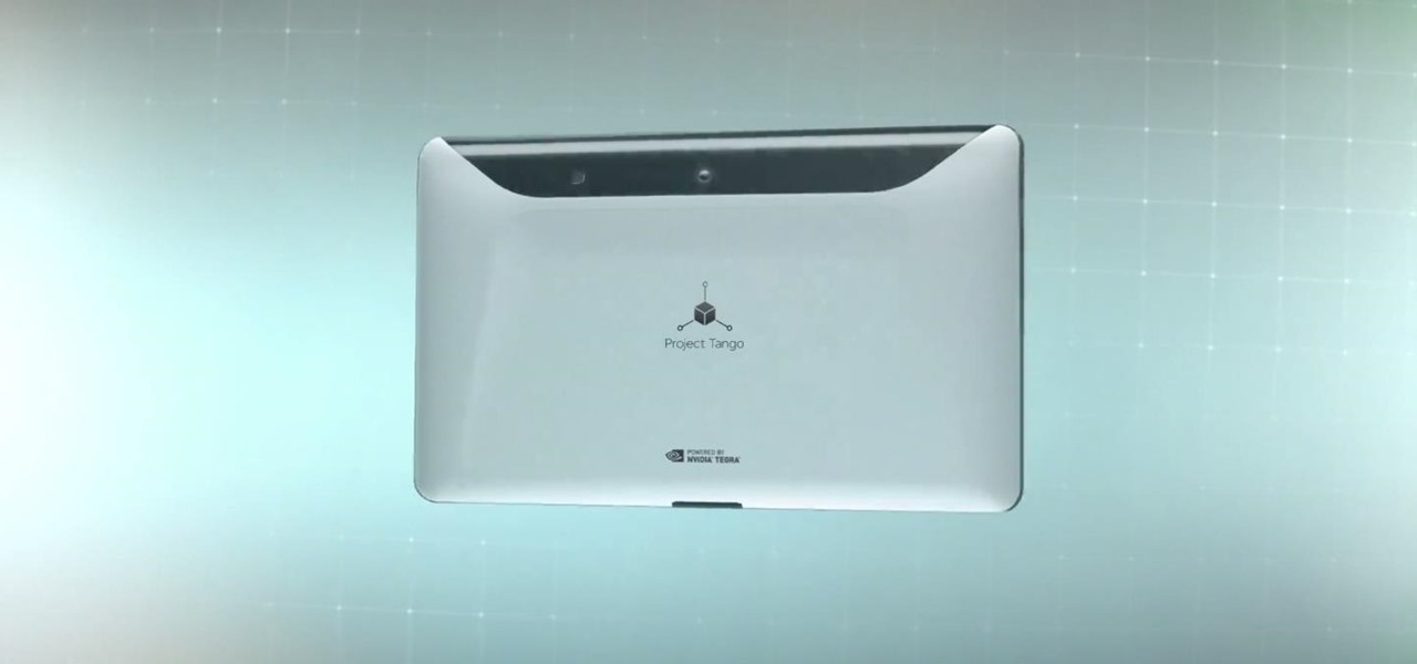 Project Tango Brings a Whole New Depth to Tablets