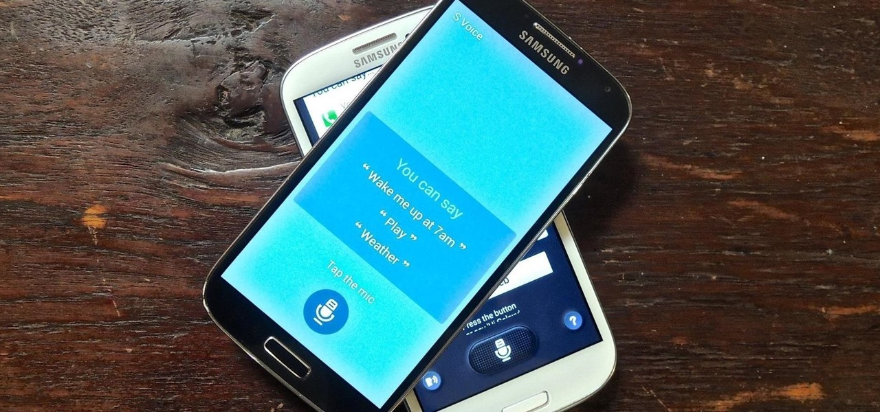Get the Galaxy S5's New S Voice App on Your Samsung Galaxy S4