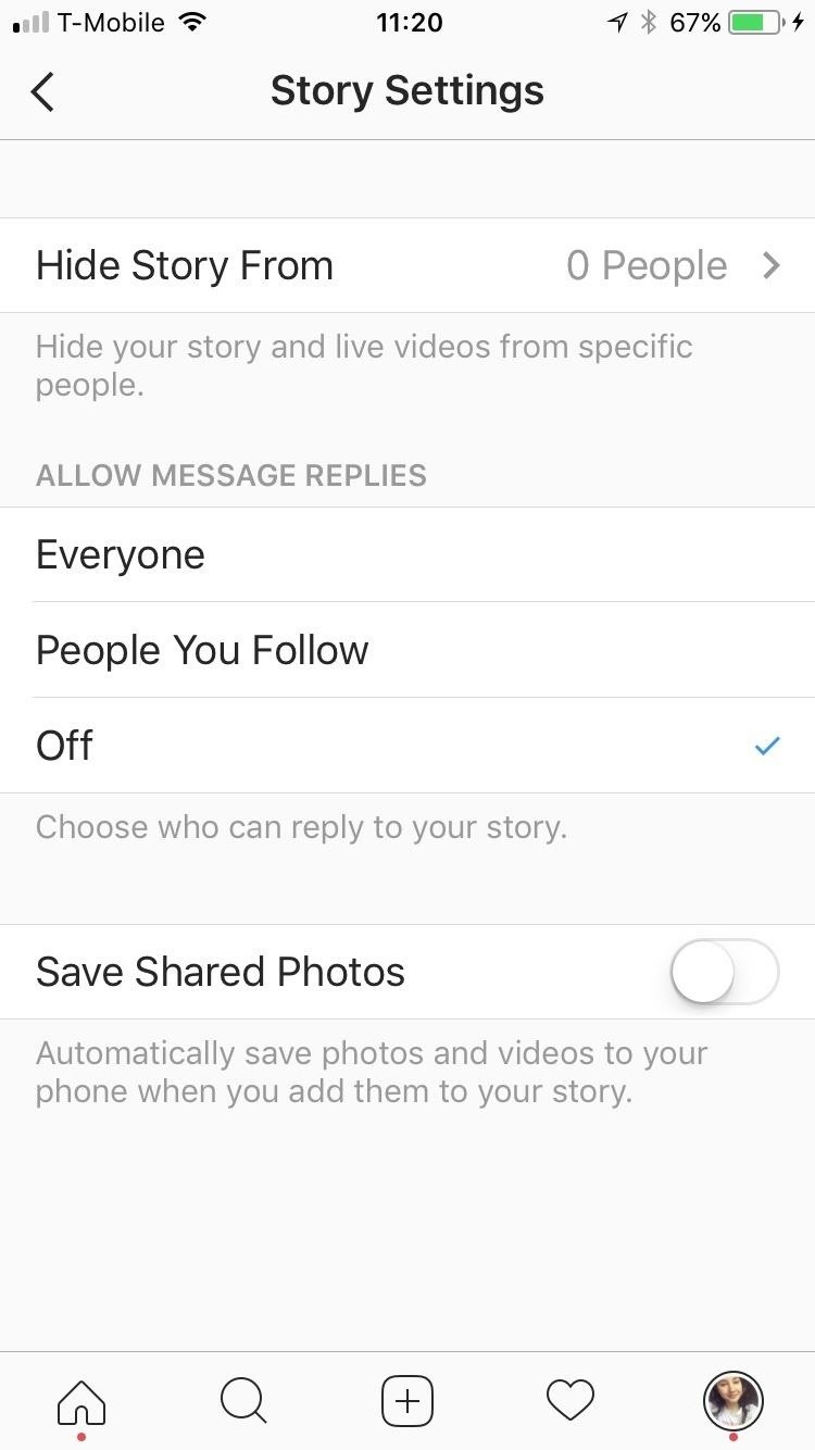 Instagram 101: Stop Users from Replying to Your Stories