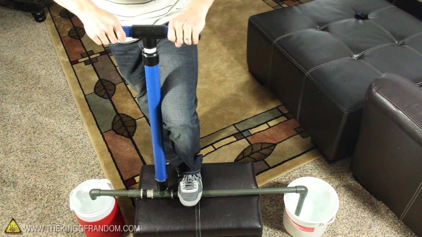 How to Make a PVC Hand Pump to Move Water, Compress Air, & Create Vacuum