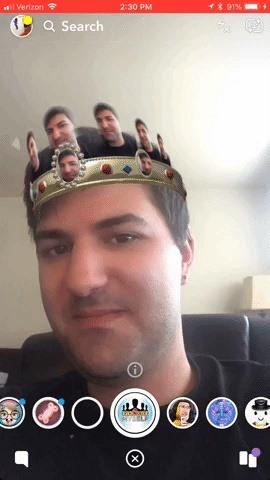 5 Snapchat Lenses released this week Maroon 5, Markiplier & More