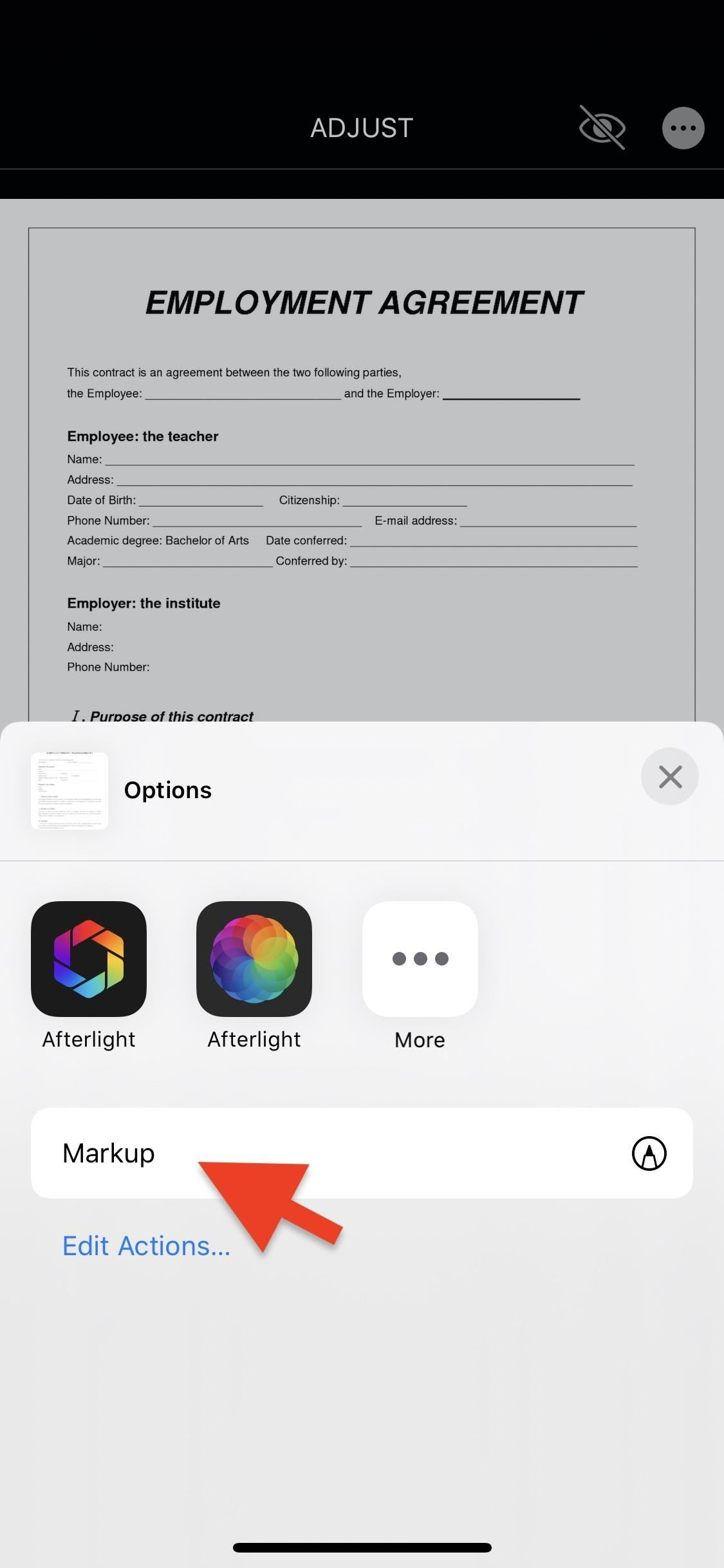 How to Set Up Your Signature in Apple's Markup & Make It Easy to Sign Forms on Your iPhone