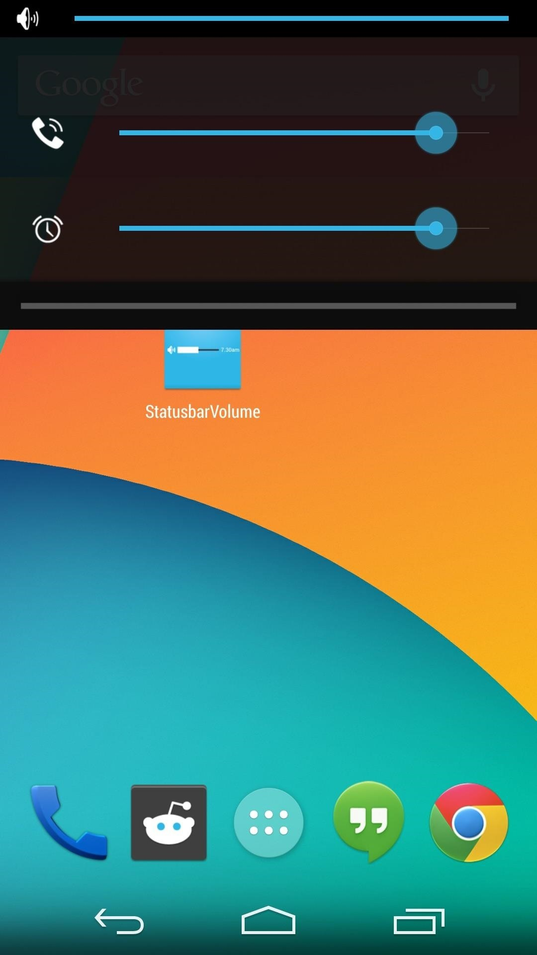How to Make the Volume Slider Less Annoying When Playing Videos on a Nexus 5
