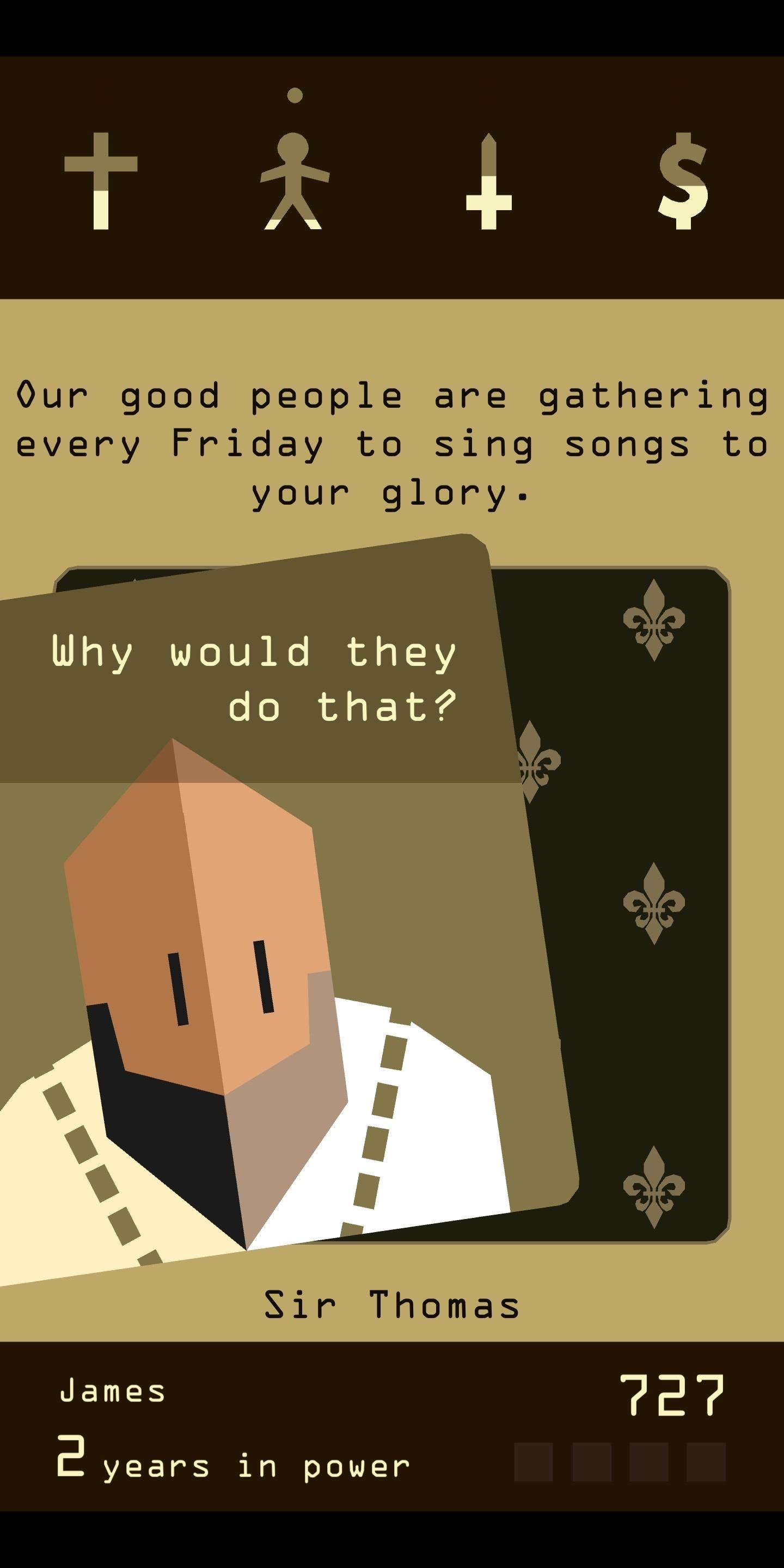 Review: Reigns — Game of Thrones Meets Tinder