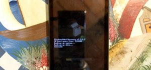 Install the custom recovery app for your Motorola Droid