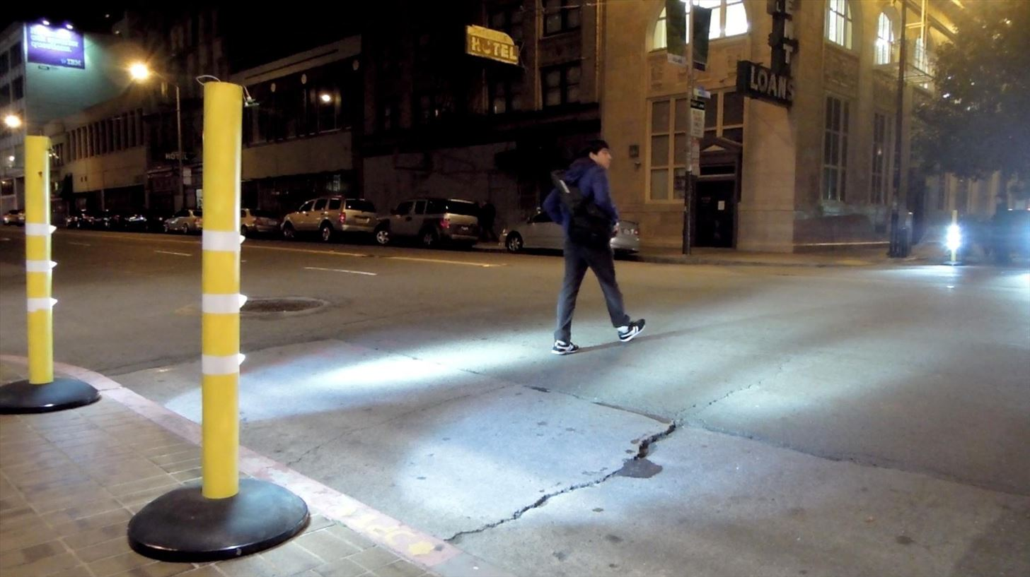 Make a Difference in Your Neighborhood with This Urban DIY Glowing Bollard Crosswalk