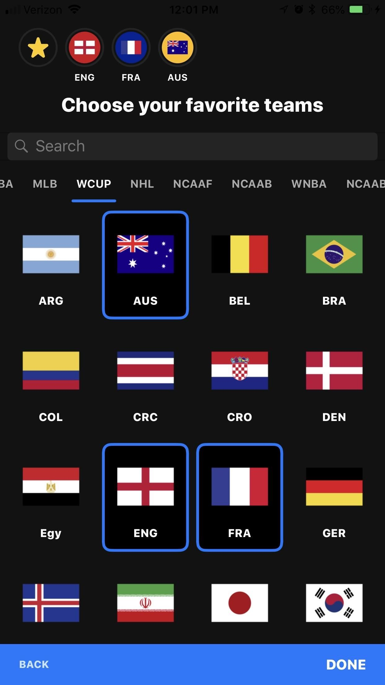 The best way to keep up with the World Cup news and scores on your phone