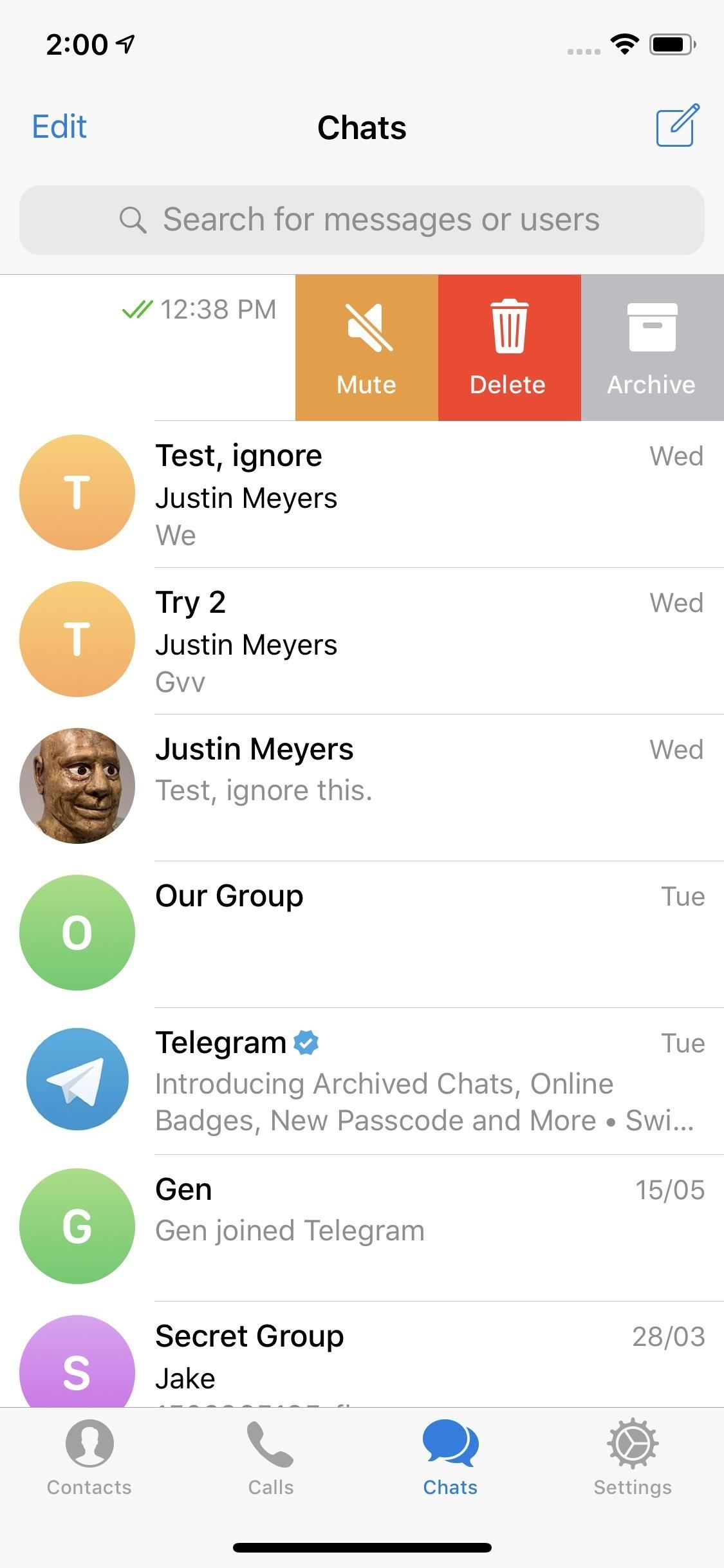 How to Archive Telegram Conversions to Keep Your Main Chat List Clean and Organized