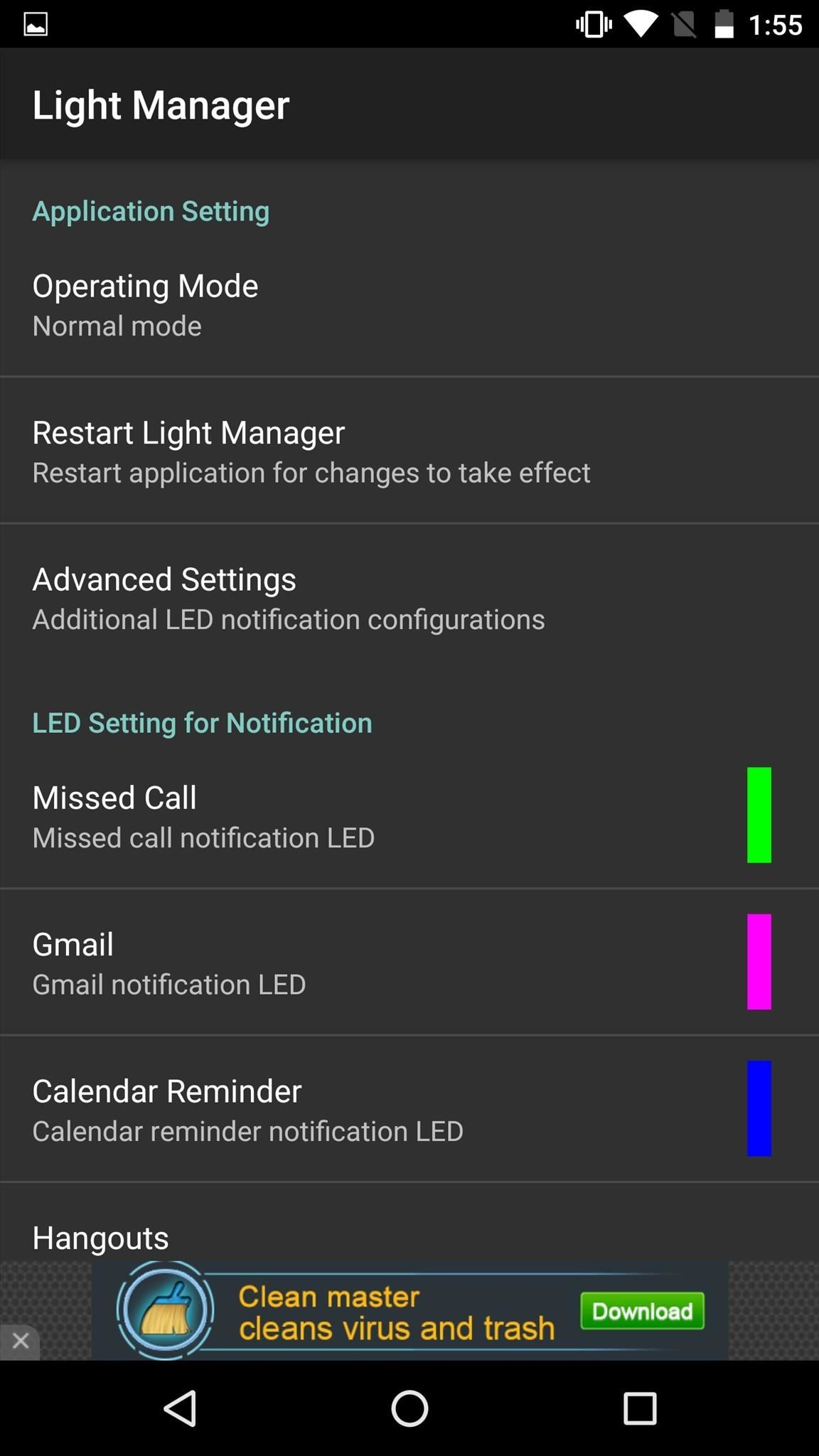 How to Completely Customize the LED Notification Colors on Your Nexus 5X or 6P Without Rooting
