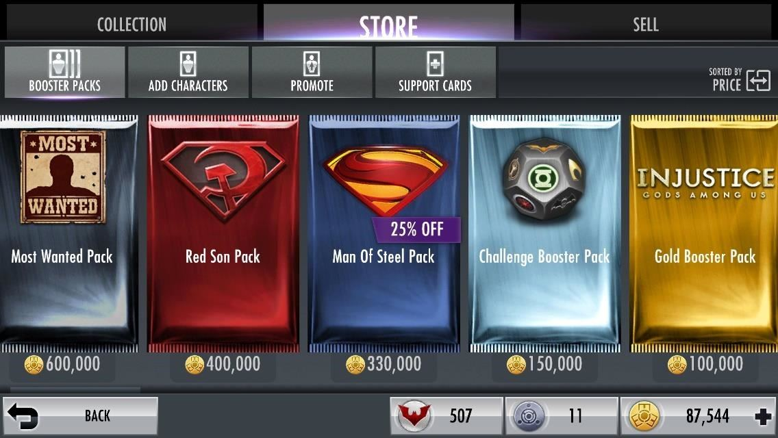 Create the Ultimate Injustice Team by Unlocking Only the