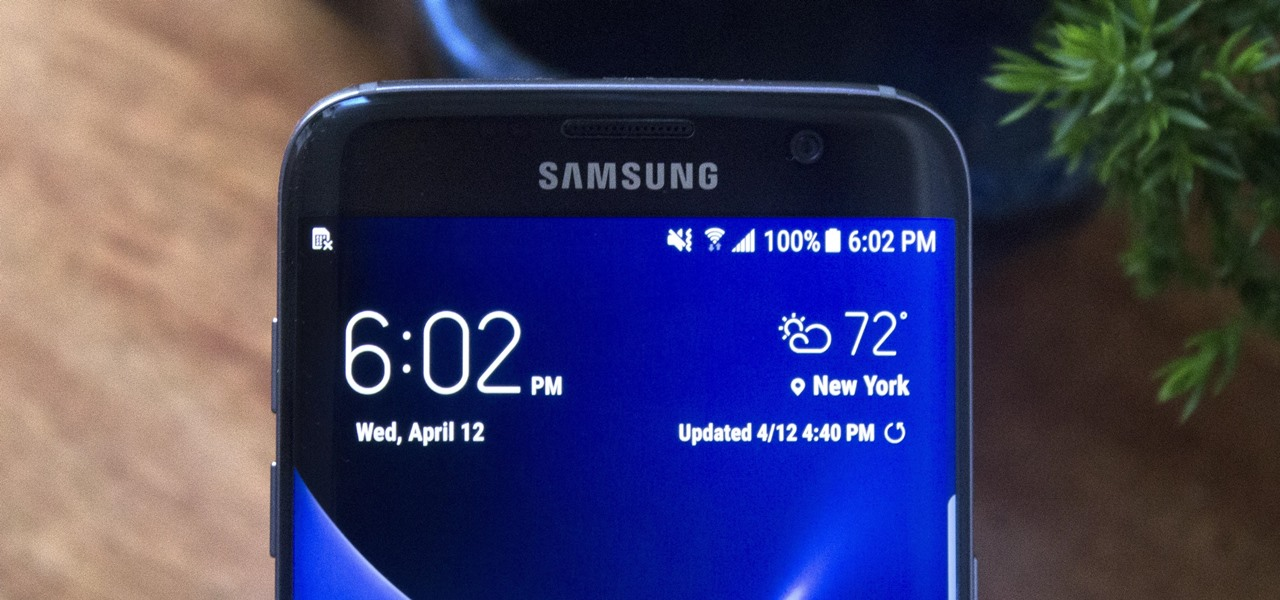 samsung galaxy s6 add weather widget