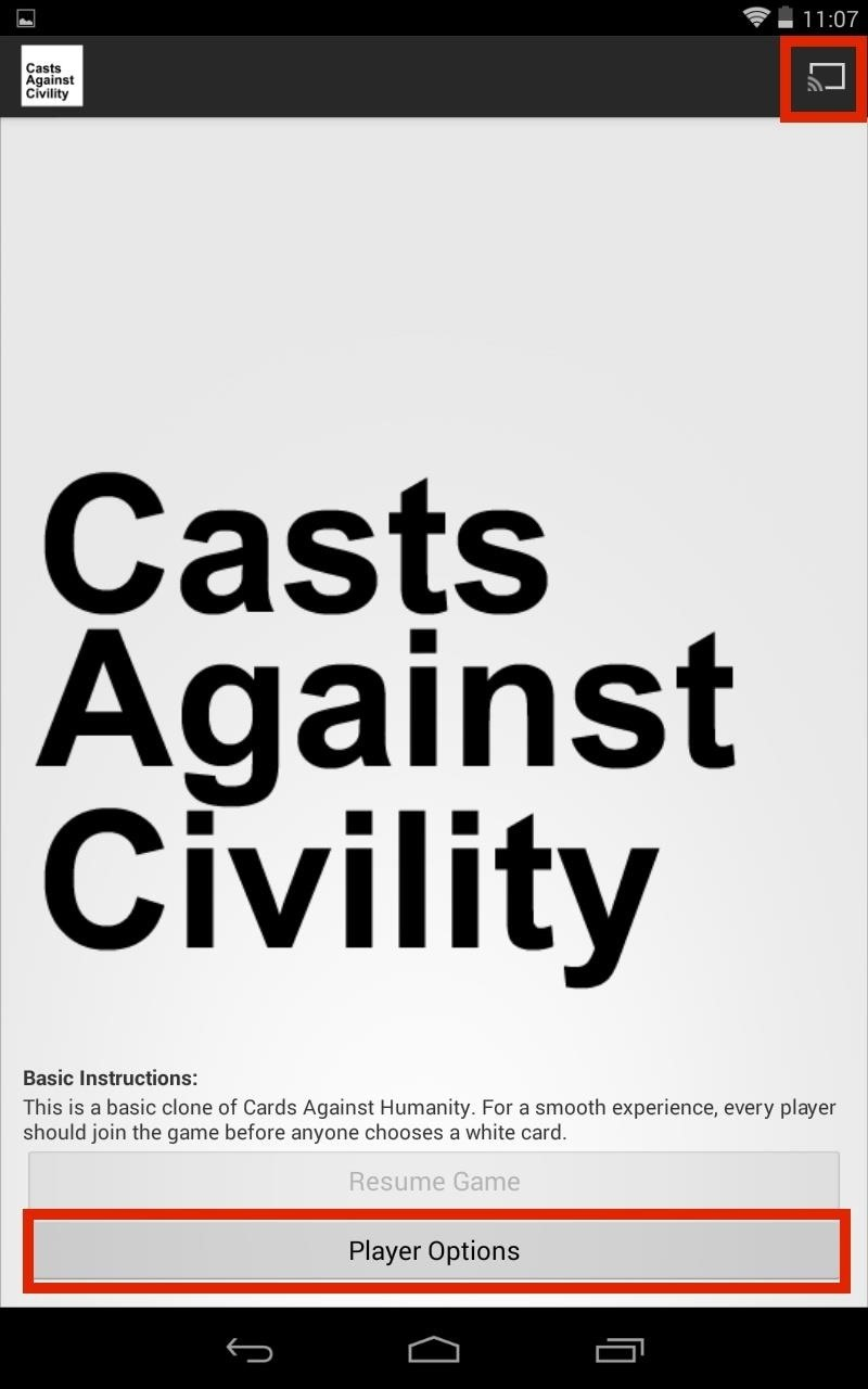"""(Updated) The Extremely Vulgar (& Hilarious) """"Cards Against Humanity"""" Game Has Been Cloned for Chromecast & Android"""