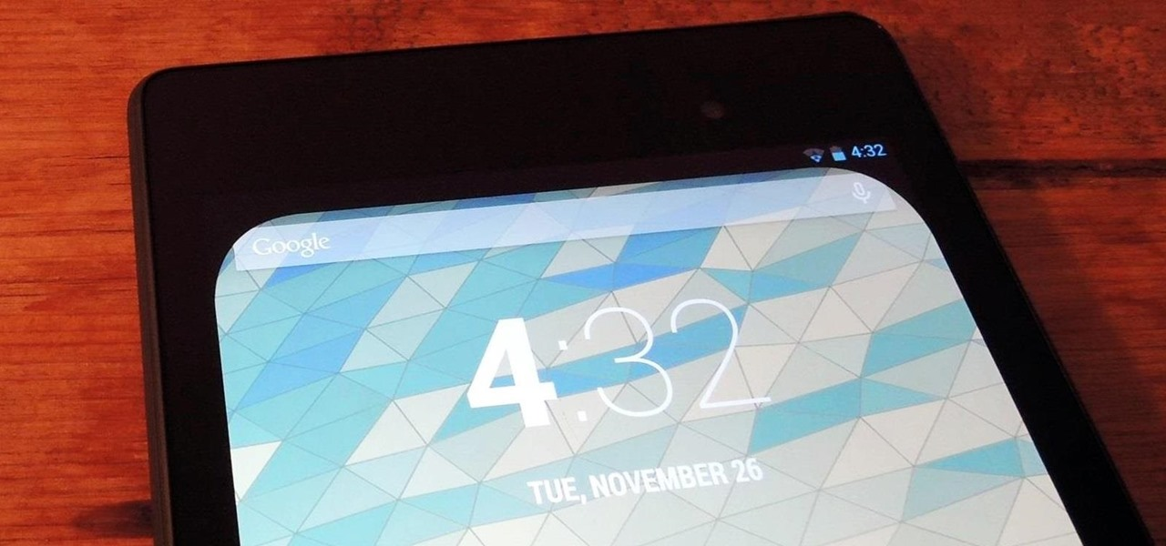 Get Rounded Screen Corners on Your Nexus 7 Tablet for a More Comfortable Display