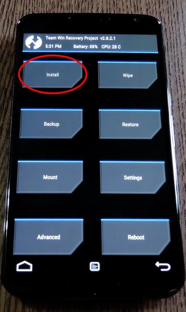 How to Swap the 'Back' & 'Recent Apps' Buttons on Your Nexus 6