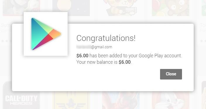 Get a Free $6 Google Play Credit for Every Chromecast You Own