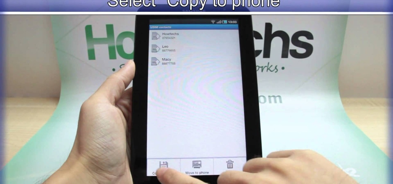 How to Insert a microSD memory card into the Samsung Galaxy Tab