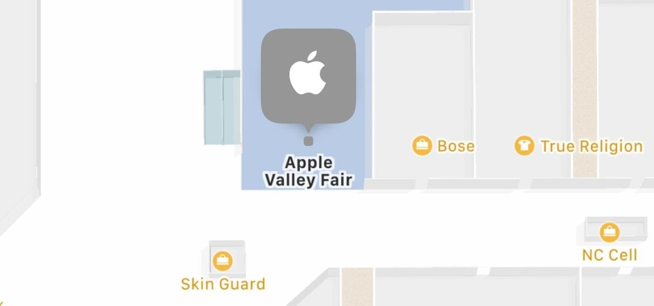 Navigate Indoor Mall & Airport Floorplans in Apple Maps for iOS 11