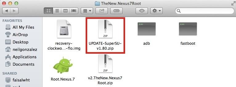 How to Root Your Nexus 7 Tablet Running Android 4.4 KitKat (Mac Guide)