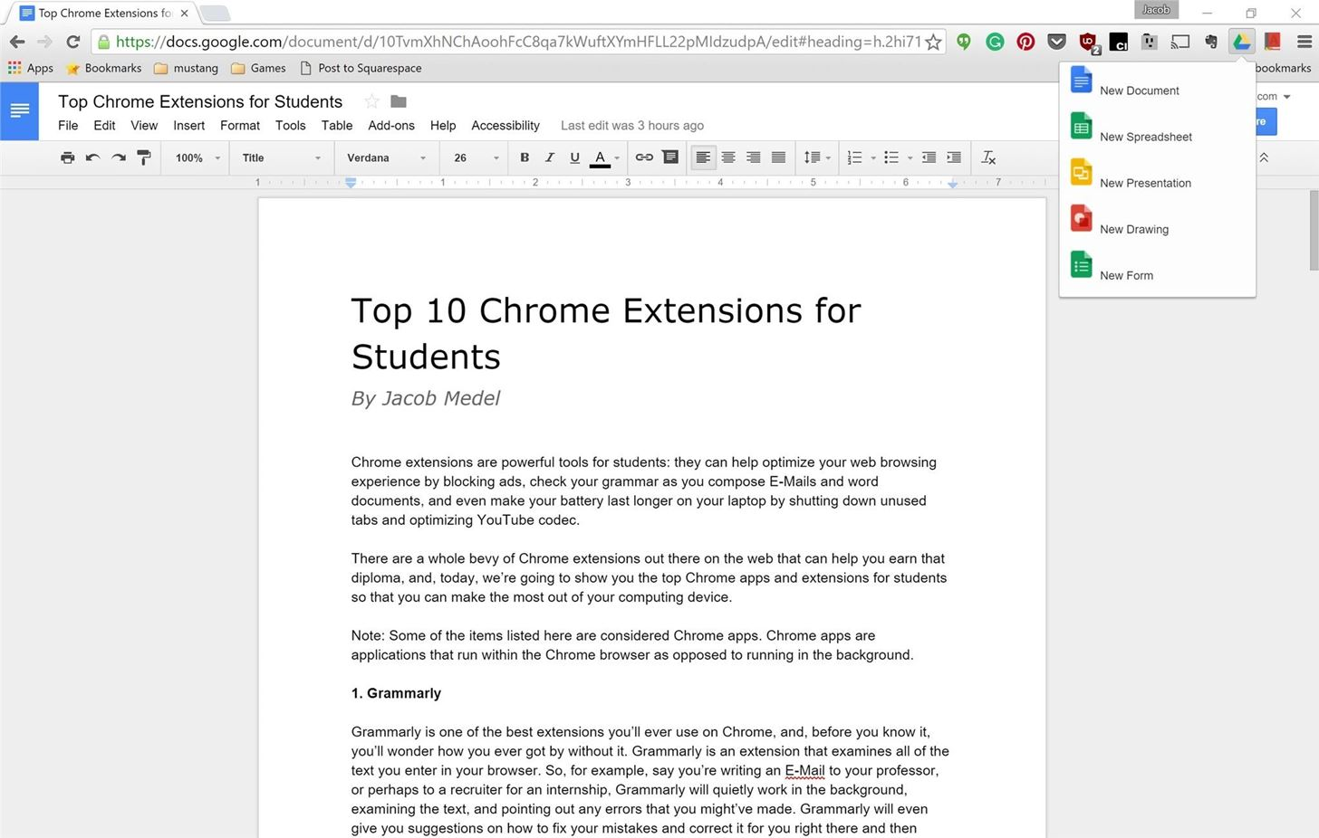 10 Must-Have Chrome Tools for Lazy Students