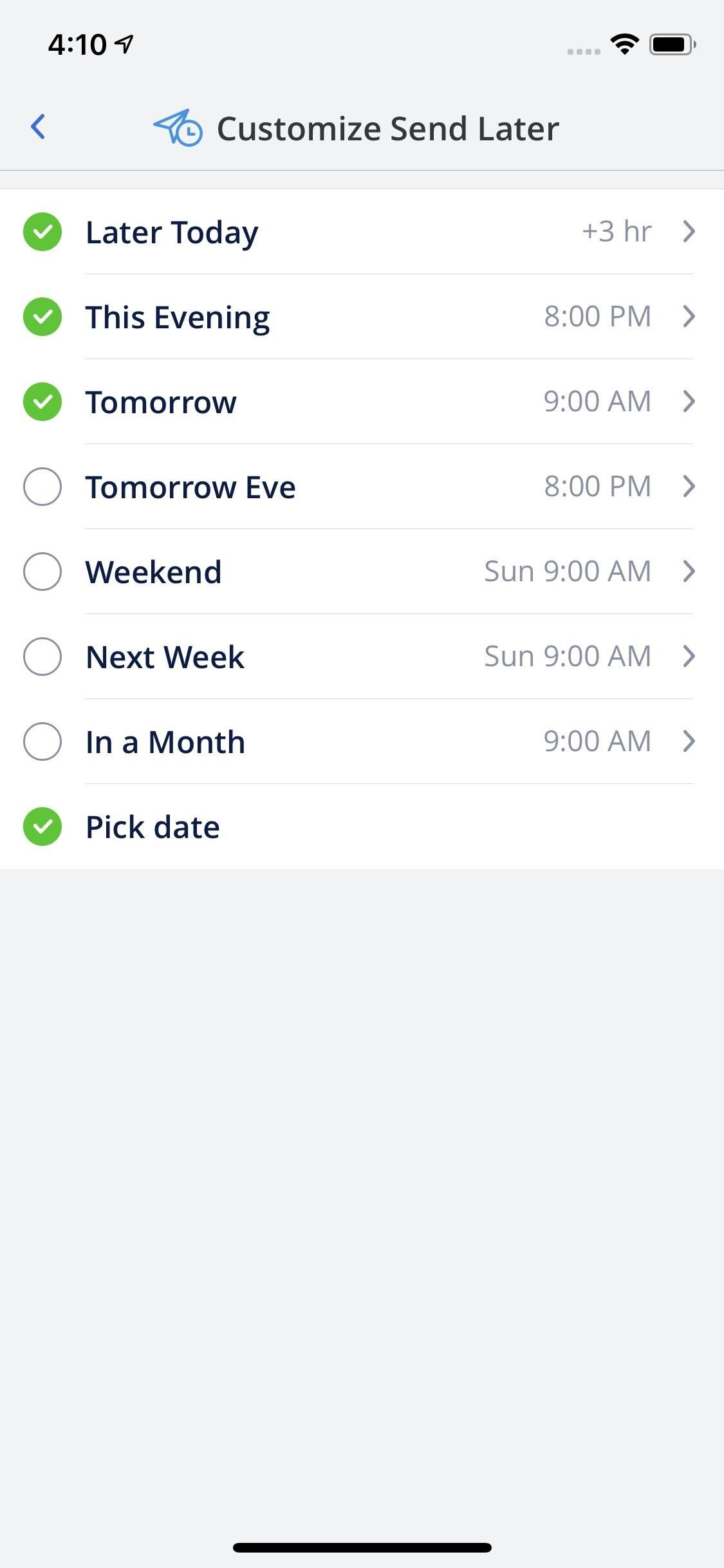 How to Schedule Emails in Spark So You Don't Forget to Send Them Later