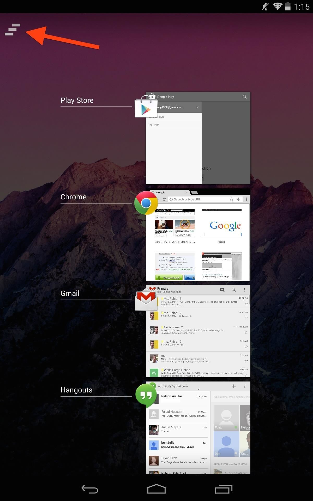 3 Quick & Easy Ways to Close All Recent Apps at Once on Your Nexus 7