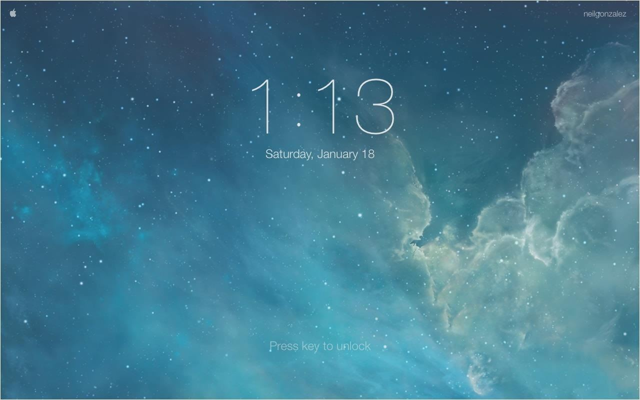 Mimic Your iPhone's Lock Screen in Mac OS X with This iOS-Style Screensaver