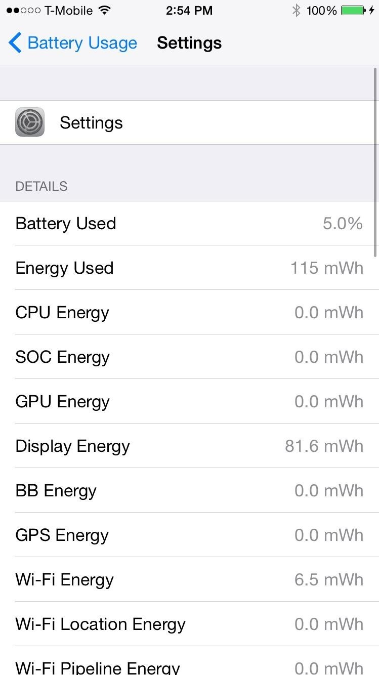 Get Detailed Battery Usage Stats for Individual Apps on Your iPhone