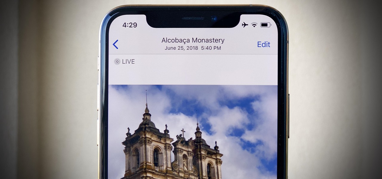 How To: You Can Turn Your Live Photos into Videos in iOS 13