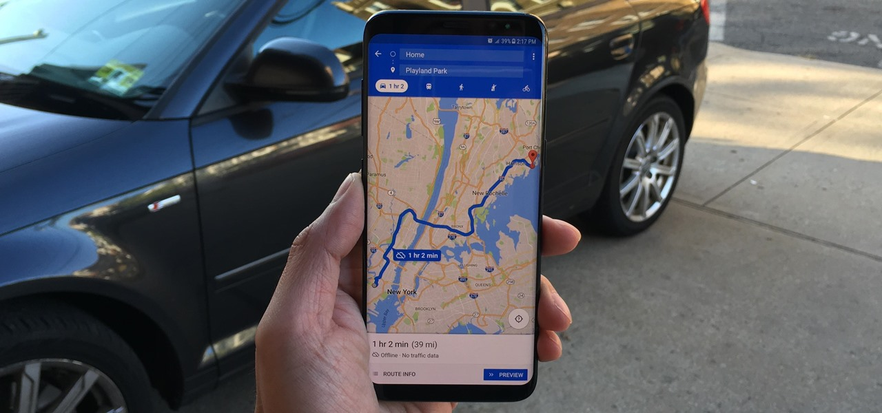 Download Entire Maps for Offline Use in Google Maps