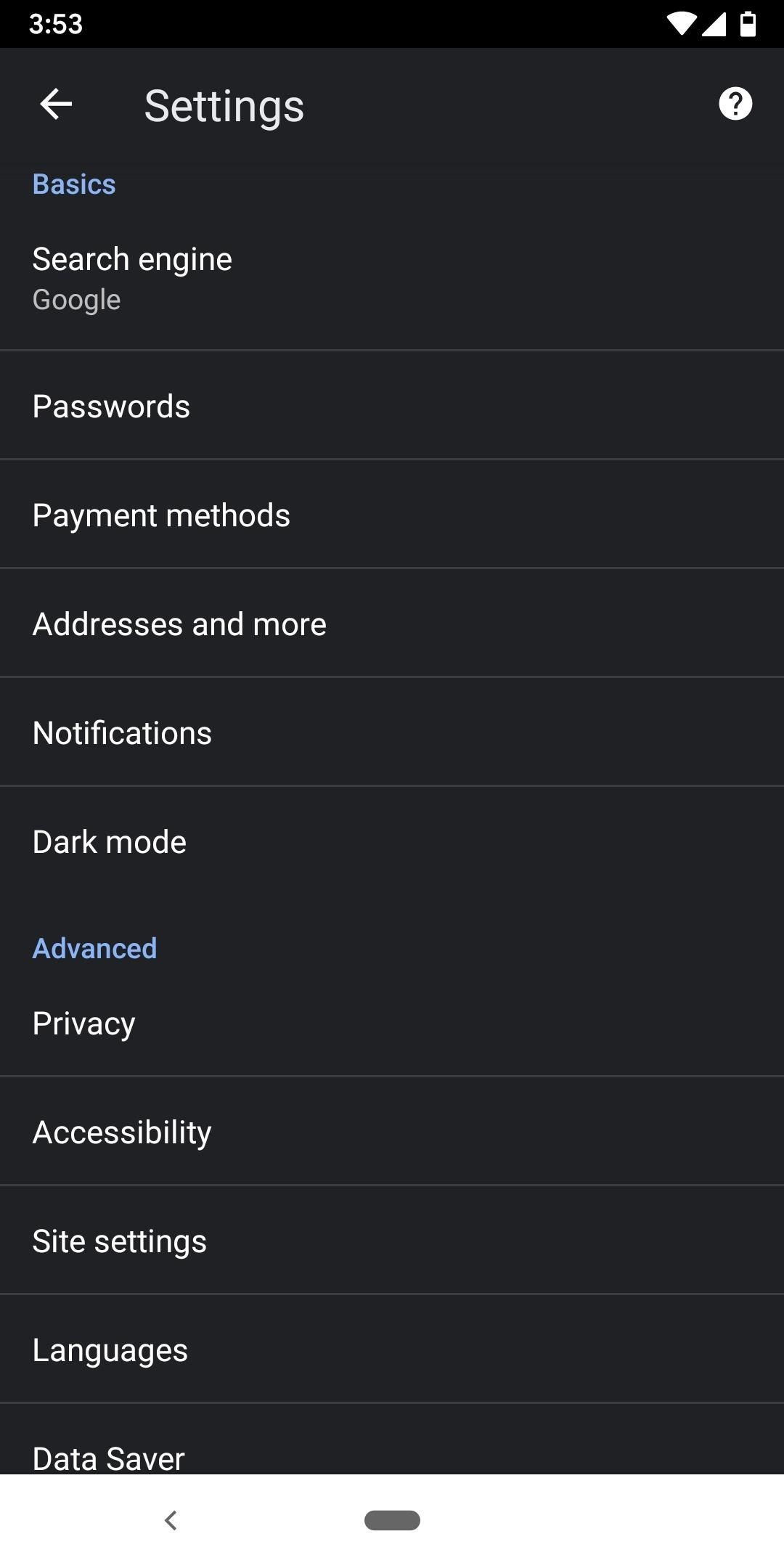 How to Enable Dark Mode in Chrome for Android « Android :: Gadget Hacks