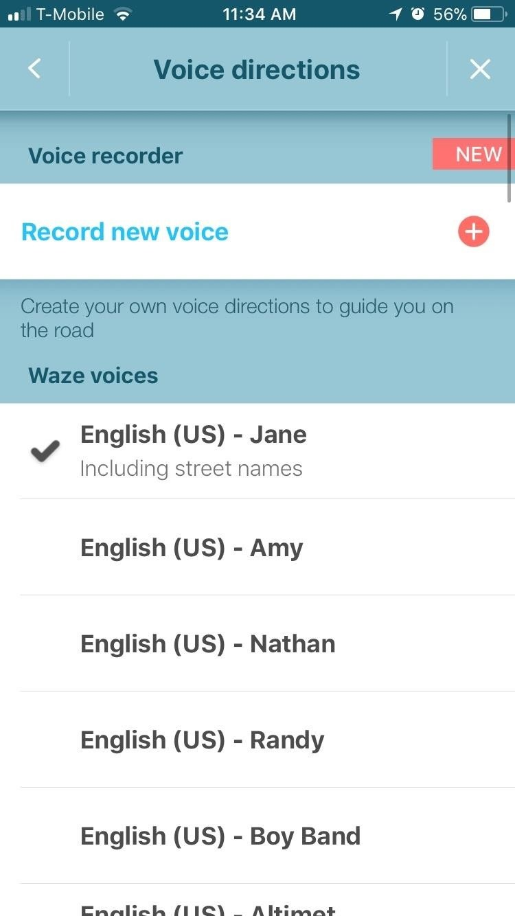 Waze 101: How to Use Different Voices for Navigation & Directions