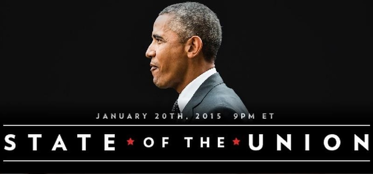 Watch President Obama's State of the Union Address Online