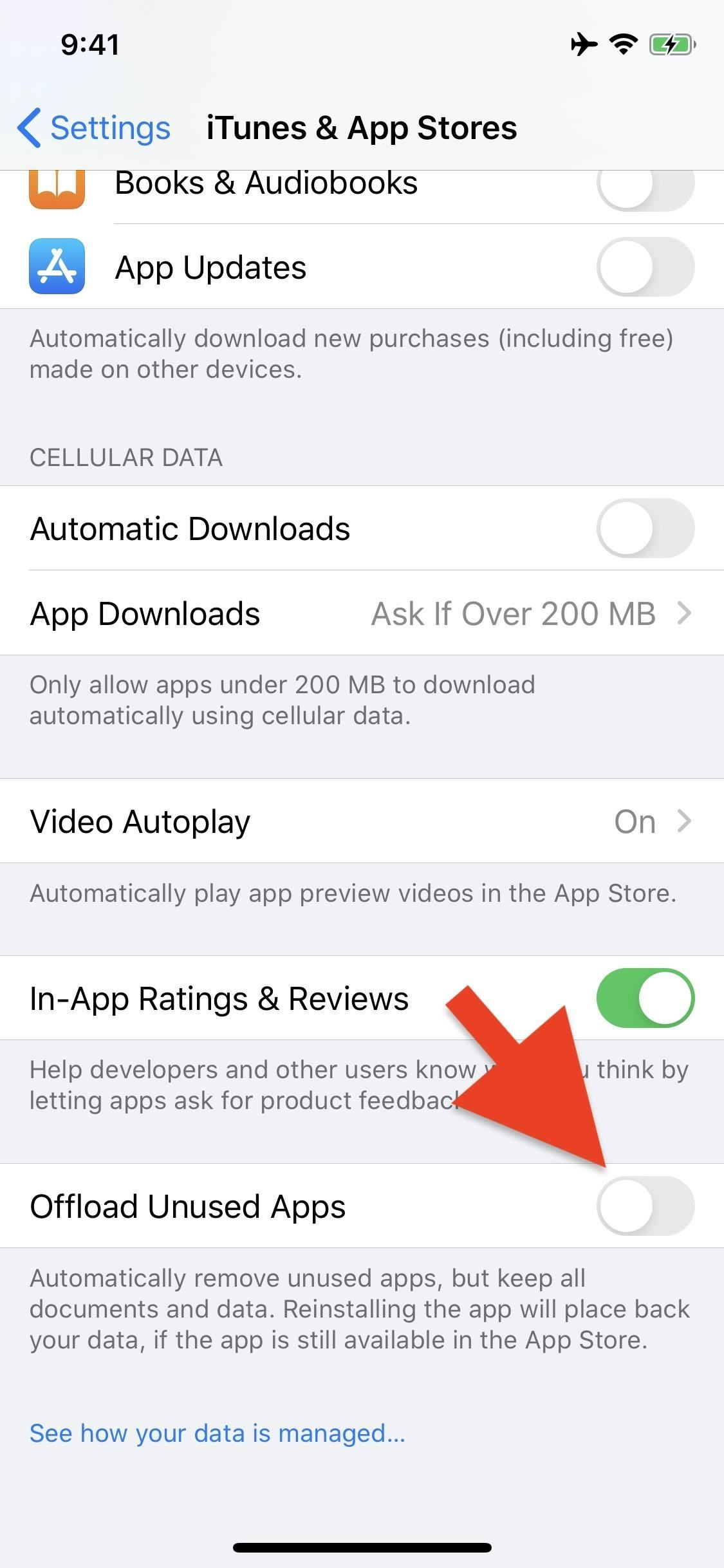 Out of Storage? Your iPhone Can Automatically Delete Apps You Don't Use
