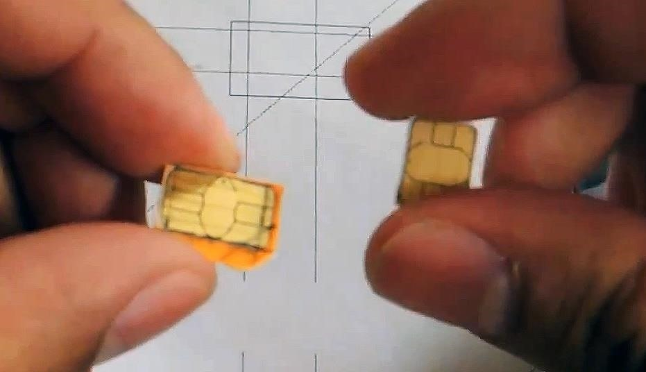 How To Convert A Micro Sim Card To Fit The Nano Slot On Your Htc