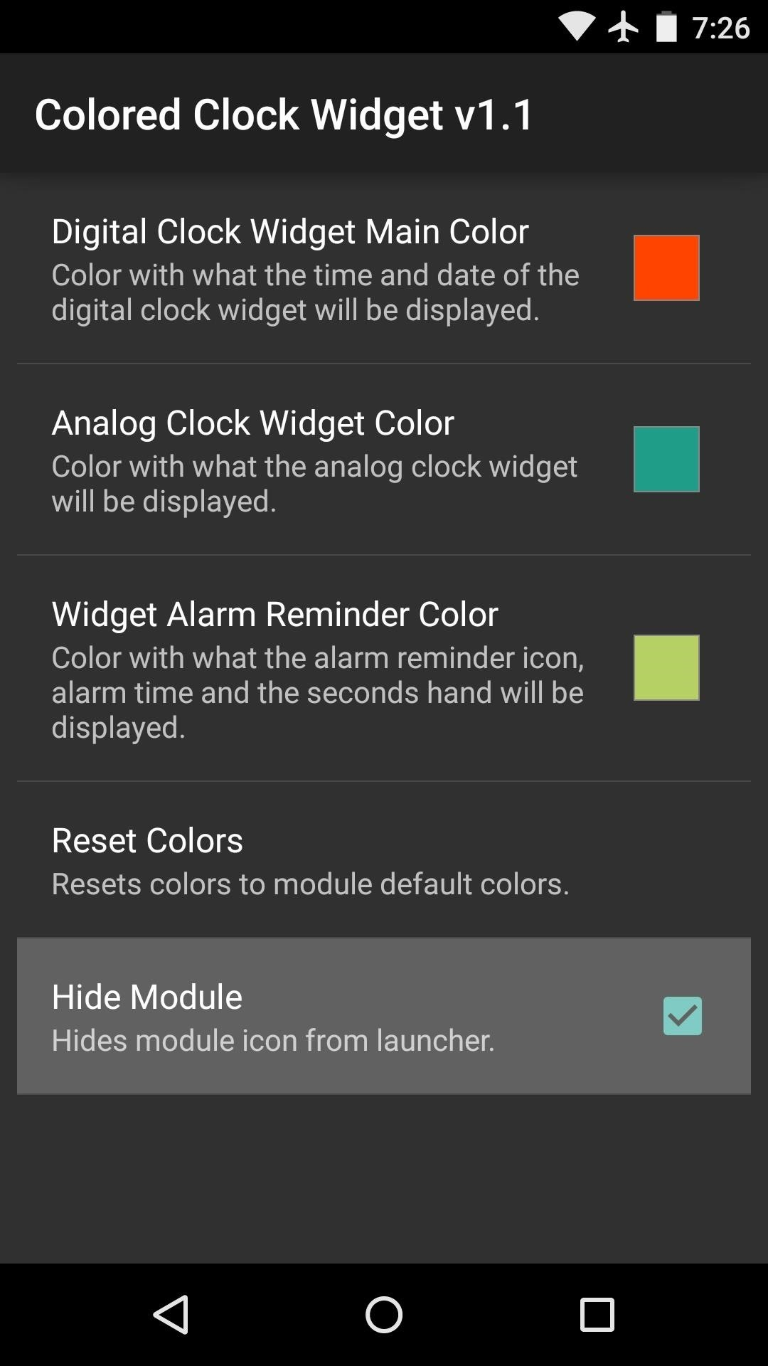 How to Change the Color of Android's Clock Widget