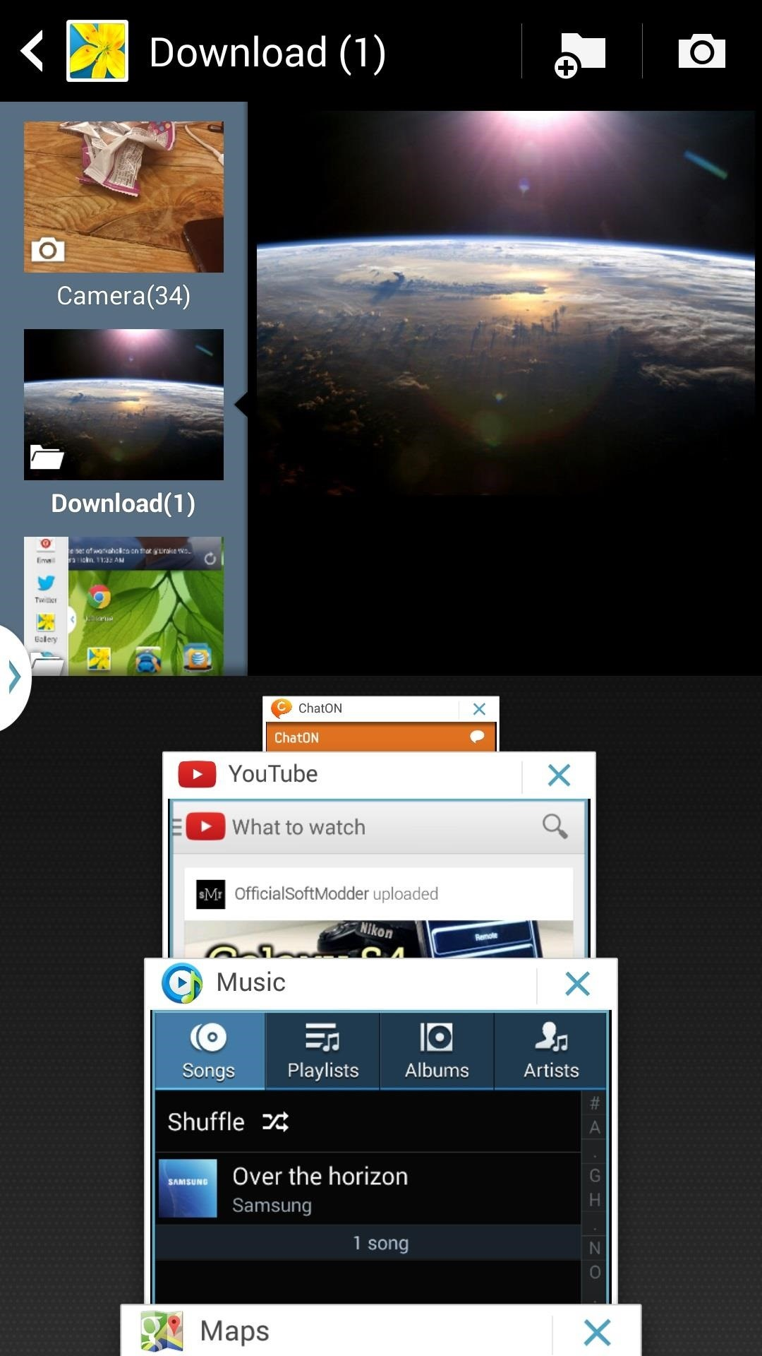 How to scrapbook youtube note 3 - Finally If There S A Specific Combination Of Apps That You Use Frequently Say Youtube And Twitter You Can Create A Recipe By Scrolling Down To The Bottom