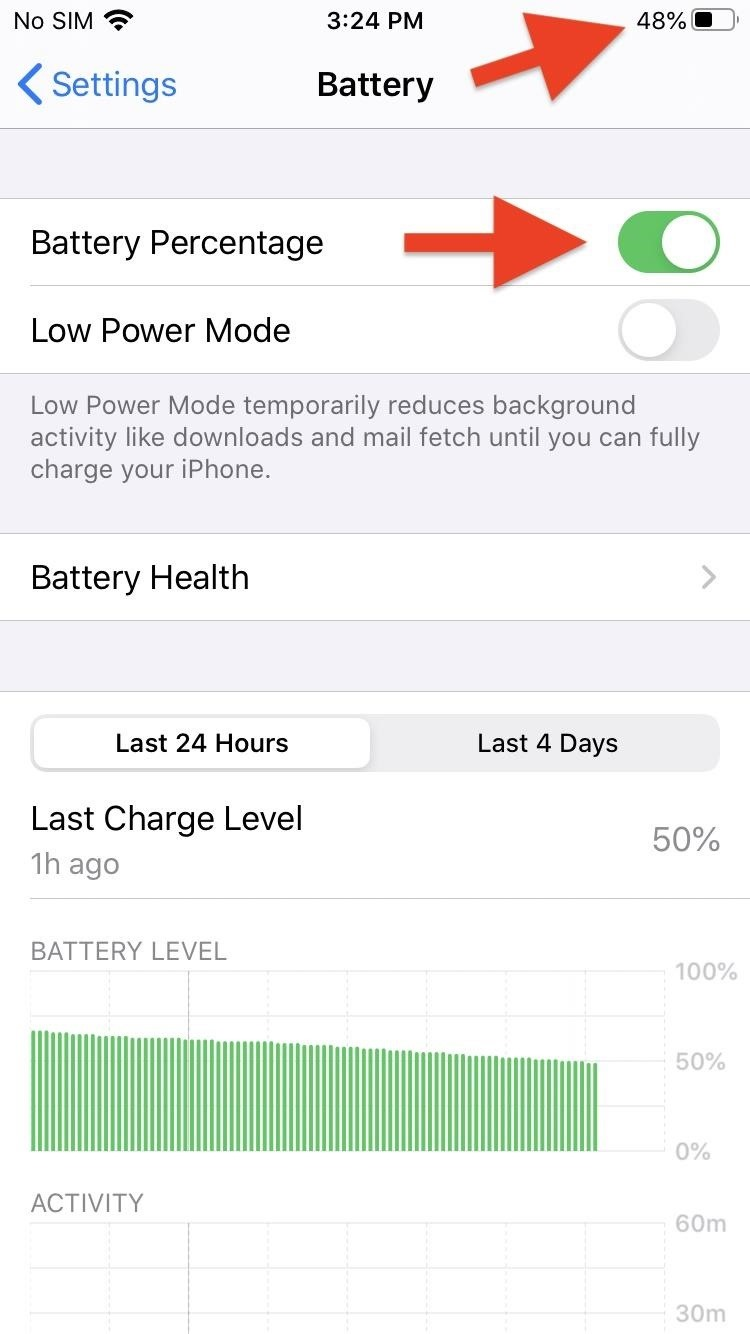 How to View the Battery Percentage on Your iPhone SE to See Exactly How Much Power Is Left