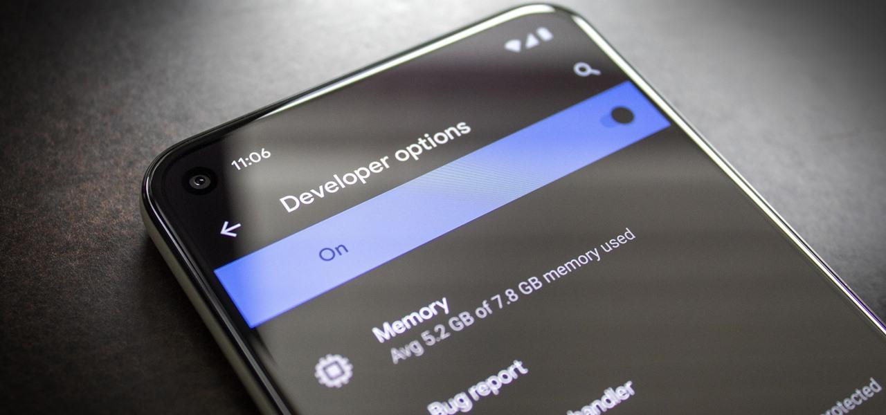 Unlock Developer Options on Your Pixel 5
